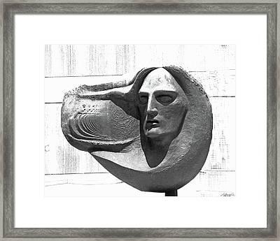 Oliver Pollock Statue  Framed Print