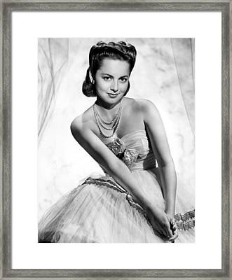 Olivia De Havilland, 1946 Framed Print