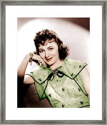 Olivia De Havilland, Ca. 1938 Framed Print by Everett