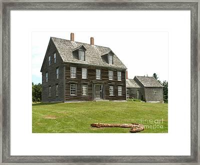Olson House Framed Print by Theresa Willingham