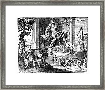 Olympia: Zeus Framed Print by Granger