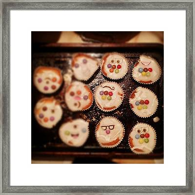 Olympic Cupcakes #london2012 Framed Print