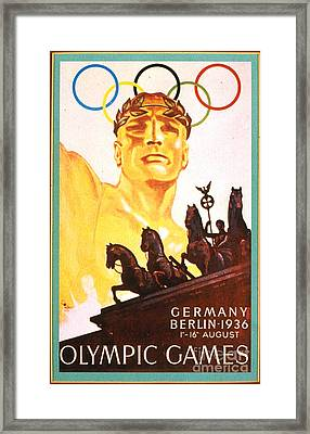 Olympic Games  Framed Print by Roberto Prusso