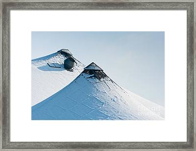 Framed Print featuring the photograph Olympic Snow by Andrew  Michael