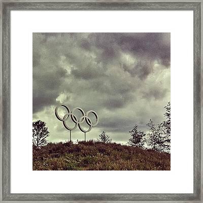 #olympicpark #olympics #london2012 Framed Print