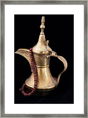 Omani Coffee Framed Print by Tom Gowanlock