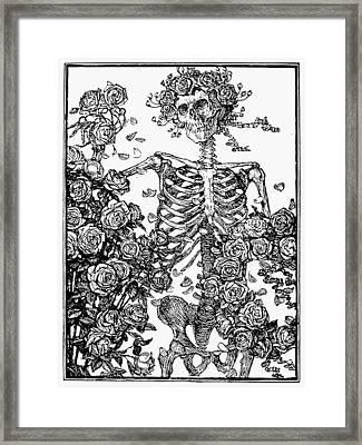 Omar Khayam: Rubaiyat Framed Print by Granger