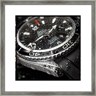 Omega Framed Print by Mark B