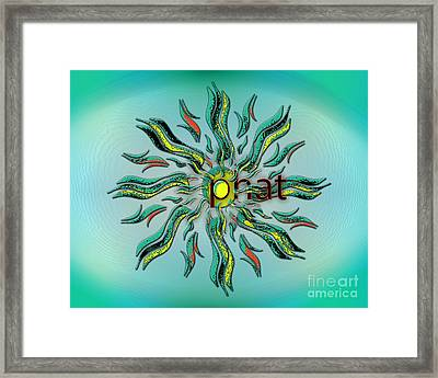 Omg Phat Framed Print by Linda Seacord