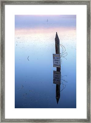 Ominous II Framed Print by JC Findley