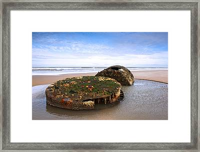 On A Beach Framed Print by Svetlana Sewell