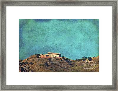 On A High Rock Framed Print by Angela Doelling AD DESIGN Photo and PhotoArt