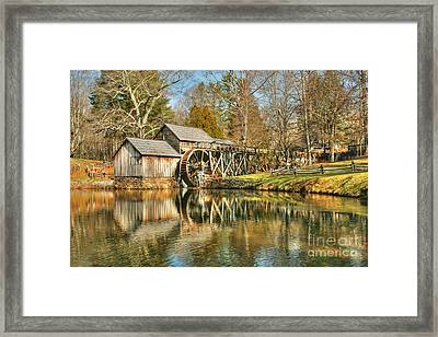 On A March Day Framed Print by Darren Fisher