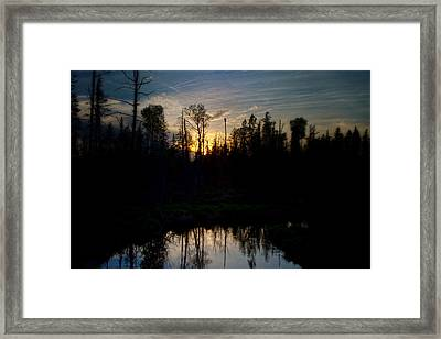 On A Summers Night Framed Print by Gary Smith