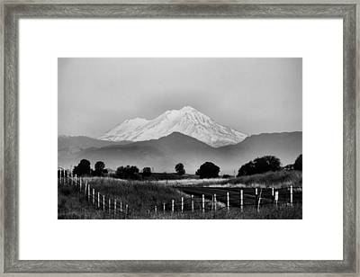 On And On Framed Print by Karen Scovill