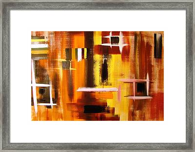 On Another Level Framed Print
