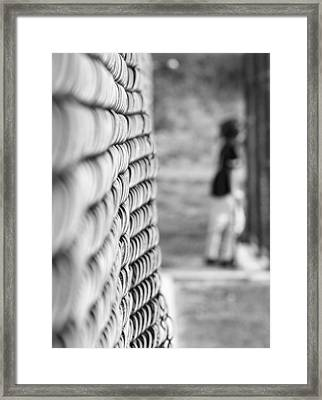 On Deck Framed Print by Mary Zeman