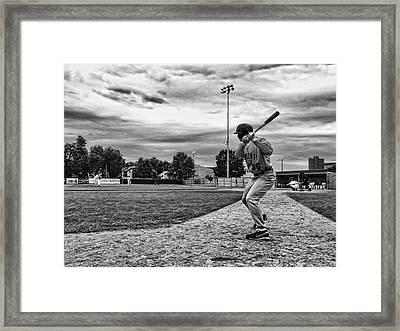 On Deck Framed Print