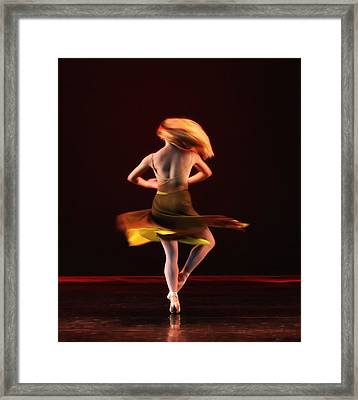 On Fire Framed Print by Kenneth Mucke