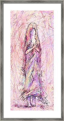 On My Toes Framed Print by Rachel Christine Nowicki