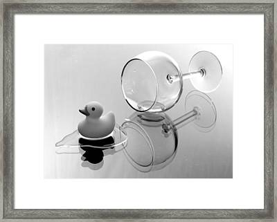 On My Way Framed Print by Andy Mulle