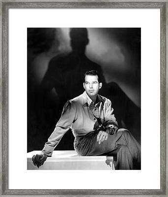 On Our Merry Way, Fred Macmurray, 1948 Framed Print by Everett