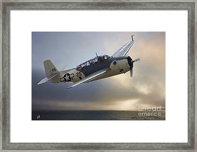 On Patrol Framed Print by Tommy Anderson