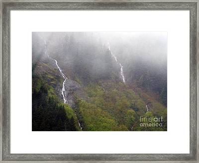 On Snoqualmi Pass Framed Print by Erica Hanel