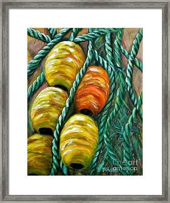 On Stand By Framed Print by JoAnn Wheeler