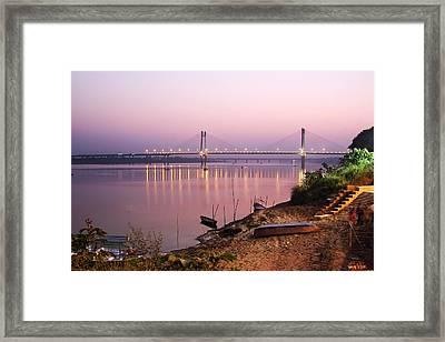 On The Banks Of Yamuna Framed Print by © Abhijeet Vardhan