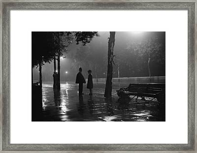 On The Beat Framed Print by Fox Photos