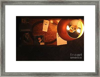 Framed Print featuring the photograph On The Desk by Sherry Davis