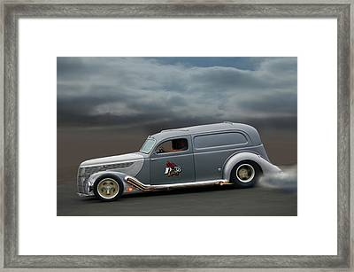 On The Flats Framed Print by Bill Dutting