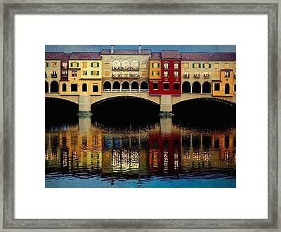 On The Lake Framed Print by Tammy Espino