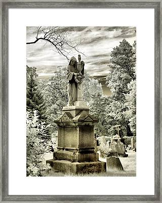On The Other Side Framed Print by Gothicrow Images