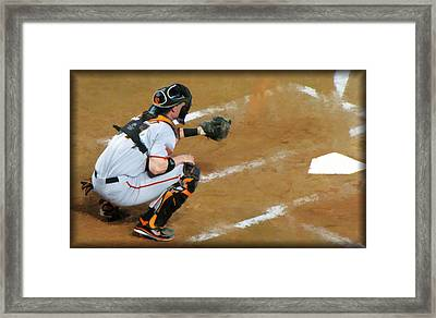 On The Ready Framed Print by Diane Wood