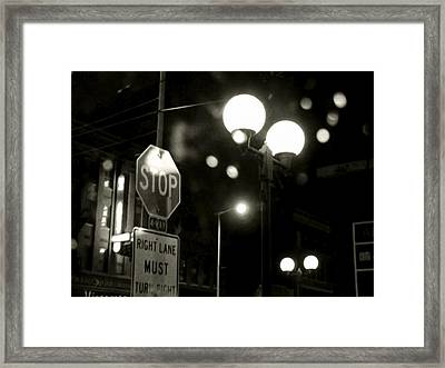 On The Road 2 Framed Print