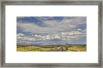 On The Road Again  Framed Print by Saija  Lehtonen
