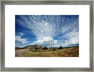 On The Road Framed Print by Emile Ibrahim