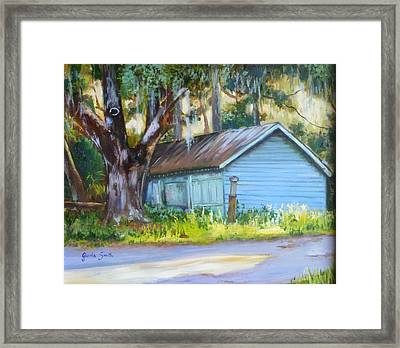On The Road Framed Print by Gloria Smith