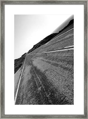 On The Road Framed Print by Steve Parr