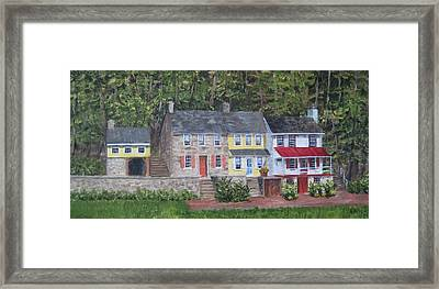 On The Road To Frenchtown Framed Print