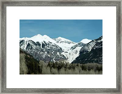 On The Road To Telluride Framed Print