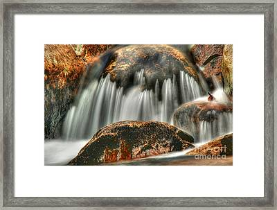 On The Rocks Framed Print by Darren Fisher