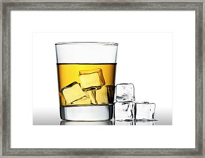 On The Rocks Framed Print by Gert Lavsen