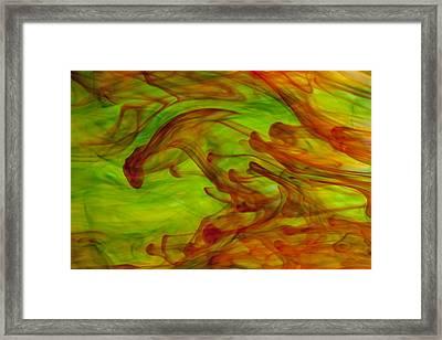 On The Run Framed Print