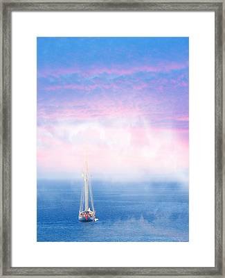 On The Sea Of Marmara Framed Print