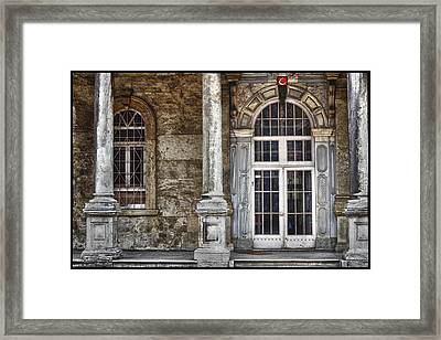 On The Side Of The Road Framed Print