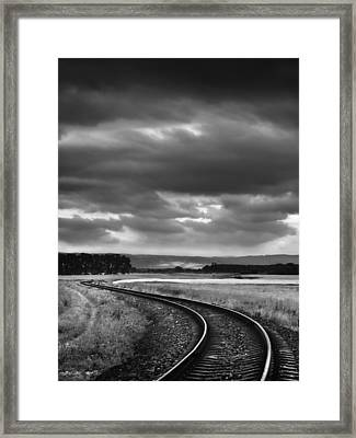 On The Track I. Framed Print by Jaromir Hron