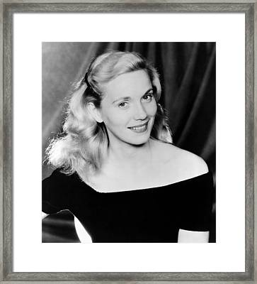 On The Waterfront, Eva Marie Saint, 1954 Framed Print by Everett